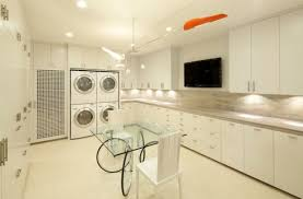 contemporary laundry room cabinets 33 laundry room shelving and storage ideas