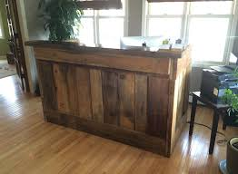 Rustic Wood Office Desk Saunzee Signs Furniture