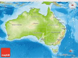 map of aus physical 3d map of australia