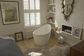 small bathroom with freestanding bath thelakehouseva com small bathroom with freestanding bath