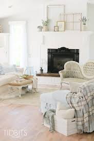 living room update white cottage style tidbits