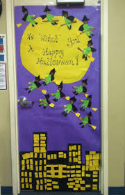 Halloween Crafts For Classroom - halloween door decoration idea crafts and worksheets for
