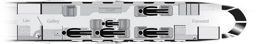 gulfstream iv n55td prime jet sleeping configuration sleeps 4 5 1 spare seat