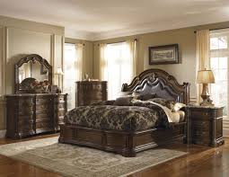 dark wooden set of classic bedroom furniture classic bedroom