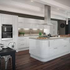 Gloss White Kitchens
