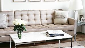 Seat Sofa Florence Knoll Style Fabric  Seat Sofas - Knoll sofas