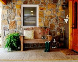 front porch bench houzz