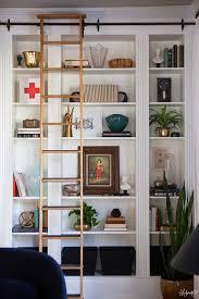 billy bookcase hack lauras living room ikea billy bookshelves hack the makerista ikea