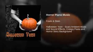 halloween town background horror piano music youtube