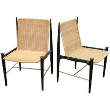 158 best mcm wicker and rattan chairs images on pinterest rattan