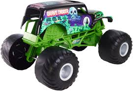 how many monster trucks are there in monster jam wheels monster jam giant grave digger vehicle walmart com