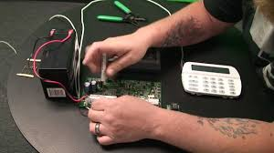 how to wire a dialer to an alarm control panel part1 youtube