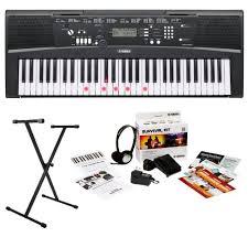 yamaha keyboard lighted keys yamaha ez 220 61 lighted key keyboard musical keyboards compare