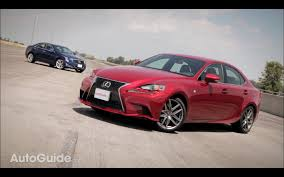 lexus is 350 awd vs rwd 2014 lexus is 350 f sport vs 2013 cadillac ats 2 0t car reviews