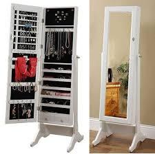Jewelry Storage Cabinet Solid Wood Furniture Dressing Mirror Dressing Mirror