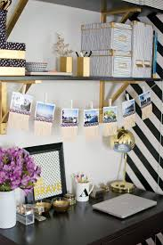 cool shabby chic home office decorating ideas gold foil art print