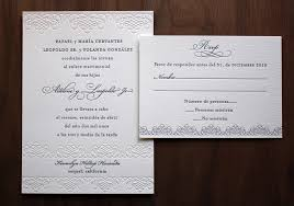 elegant spanish wedding invitations beach wedding invitations
