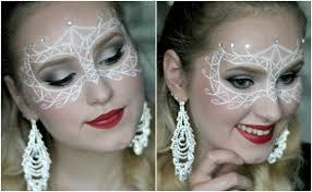 masquerade mask halloween makeup tutorial ellentallberg youtube