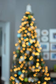 how to capture blurred lights bokeh effect of decorating