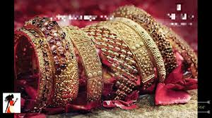 gold set for marriage jewelry bangle churi set wedding and party jewellery collection