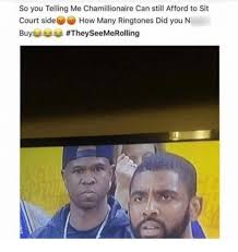 Meme Ringtones - so you telling me chamillionaire can still afford to sit court side
