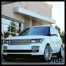 white land rover lr4 with black wheels 24 range rover wheels ebay