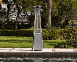 Fire Sense Pyramid Patio Heater by Steel Pyramid Flame Heater