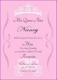 Spanish Wedding Invitation Wording Quinceanera Invitations Wording In Spanish Badbrya Com
