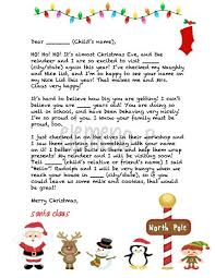 the 25 best letter from santa template ideas on pinterest santa