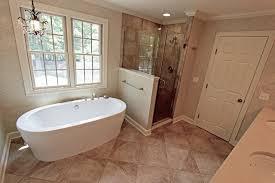 Master Bath Oasis White Cabinets Caesarstone Countertop - White cabinets master bathroom