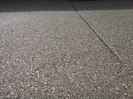 Exposed Aggregate Patio Stones Pea Gravel Exposed Aggregate Patio Close Up Solano County Yolo