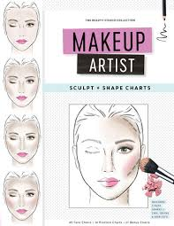 books for makeup artists book info makeup shape sculpt charts colorista books