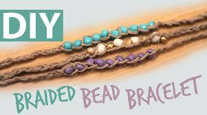 braided bracelet with bead images Diy braided bead bracelet jpg