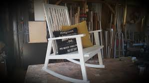 wooden rocking chair 10 steps with pictures