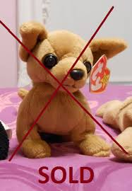 ty beanie baby chihuahua sold by plushies 4 sale on deviantart