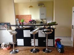 comment faire un ilot central cuisine comment faire un ilot central cuisine 11 table de bar avec kallax