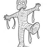 cute halloween mummy coloring pages colotring pages