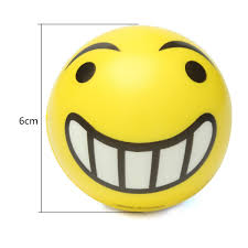 Vacuum Emoji by Squishy Emoji Smiley Face Anti Stress Relief Autism Mood Squeeze