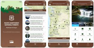 forest service help desk new forest service app for pacific northwest is first of its kind