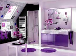 accessories splendid impressive bathroom designs purple interior