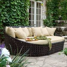 White Metal Patio Furniture - outdoor great rattan wicker outdoor patio furniture with green