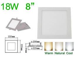 flat square ceiling lights cheap 10 pcs lot ultra thin design 18w led panel light square led