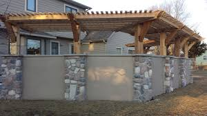 interior shade structure fros carpentry backyard wooden shade