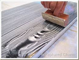 Wood Finishing Techniques Glazing by Best 25 Faux Wood Paint Ideas On Pinterest Painted Garage Doors