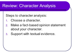 character analysis free graphic organizers for teaching