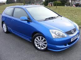 honda civic sport for sale used honda civic 2005 blue paint petrol 1 6 i vtec sport 3dr part