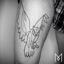 one line tattoos by mo ganji 18 photos twistedsifter