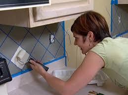 kitchen backsplash paint ideas painted backsplash diy faux tile backsplash marchetti