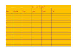 Todo List Template Excel Task List Format Bulletjournal Future Log Five Analog To Do List