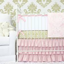Lilac Damask Crib Bedding Peggy S Pink And Gold Damask Crib Bedding Set Rosenberryrooms